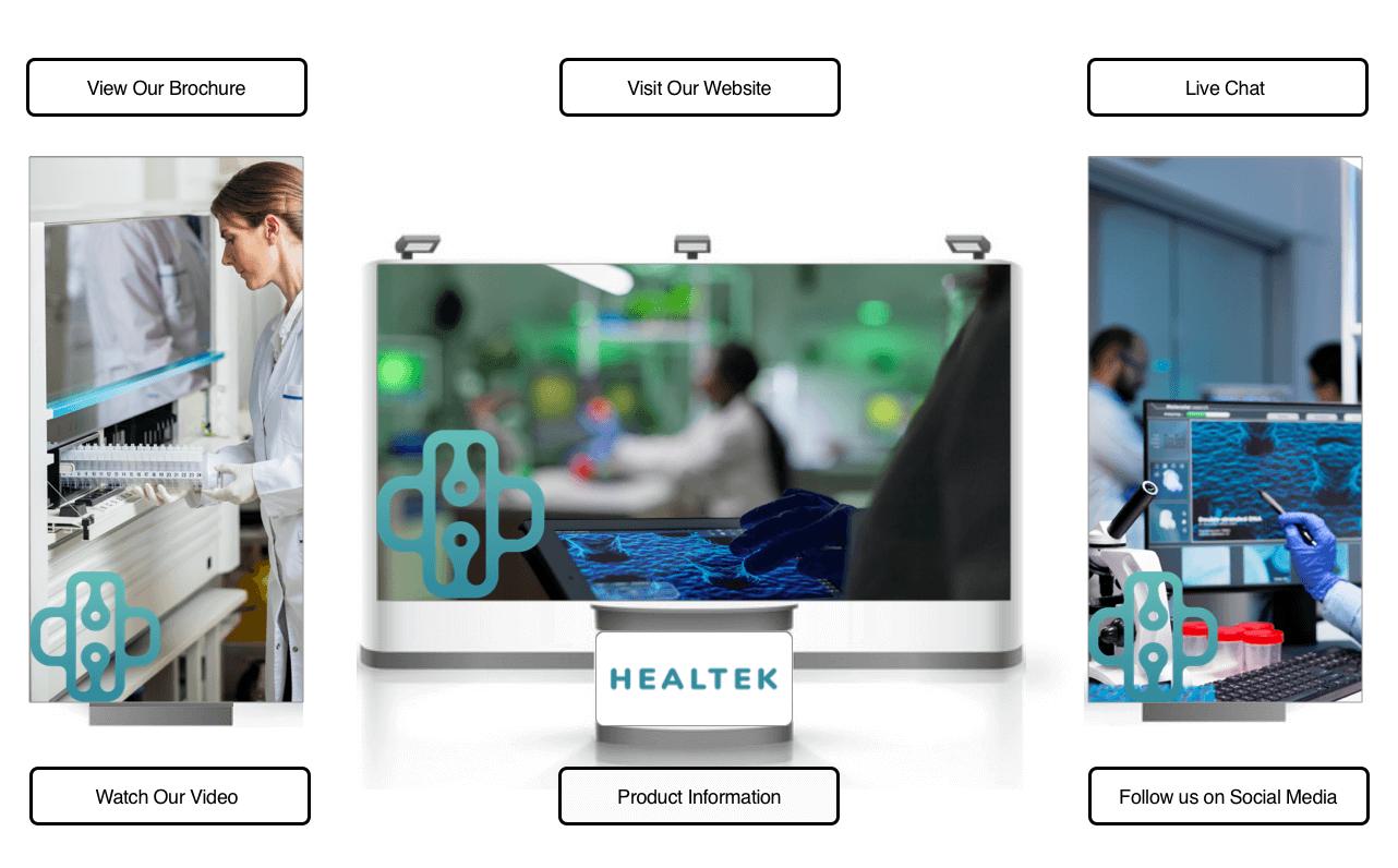 HealTek Booth